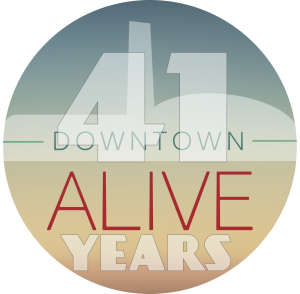 41 Downtown Alive Branding_badge