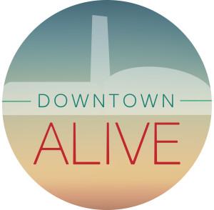 Downtown Alive Branding_badge