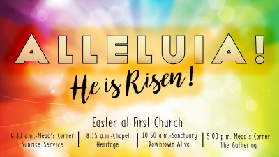 Easter at First Church