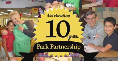 Celebrating 10 years with Park Elementary