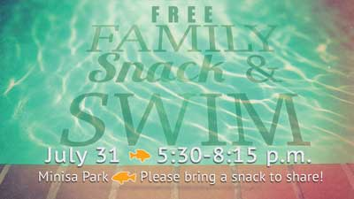 All Church Family Snack and Swim