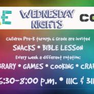 CORE Kids Wednesday Nights