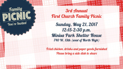 All Church Family Picnic