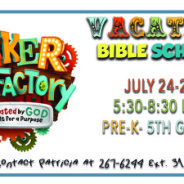 Coming Summer 2017- VBS!