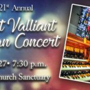 Brett Valliant Summer Organ Concert