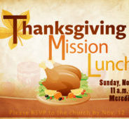 Thanksgiving Mission Lunch