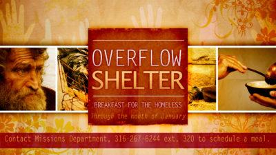 Breakfast for the Overflow Shelter
