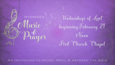 Midweek Music & Prayer