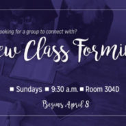 New Class forming