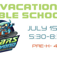 Vacation Bible School Summer 2019!