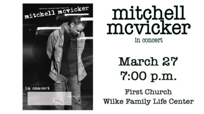 Mitchell McVicker in Concert